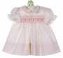 "<img src=""https://p11.secure.hostingprod.com/@grammies-attic.com/ssl/images/blue-sold-1.gif""> NEW Polly Flinders Pink Striped Smocked Dress with Pink Embroidery"