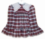 "<img src=""https://p11.secure.hostingprod.com/@grammies-attic.com/ssl/images/blue-sold-1.gif""> Polly Flinders Red and Green Plaid Smocked Toddler Dress"