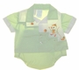 """<img src=""""https://p11.secure.hostingprod.com/@grammies-attic.com/ssl/images/blue-sold-1.gif""""> Retro 1960s Unworn Green and White Diaper Set with Chick Embroidery"""