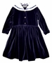 "<img src=""https://p11.secure.hostingprod.com/@grammies-attic.com/ssl/images/blue-sold-1.gif"">Sally Membery Navy Blue Velvet Sailor Dress with White Collar"