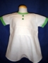 "<img src=""https://p11.secure.hostingprod.com/@grammies-attic.com/ssl/images/blue-sold-1.gif""> Vintage 1930s White Flour-Sack Romper with Green Trim"