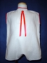 "<img src=""https://p11.secure.hostingprod.com/@grammies-attic.com/ssl/images/blue-sold-1.gif""> Vintage 1930s White Flour-Sack Romper with Red Trim"