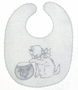 "<img src=""https://p11.secure.hostingprod.com/@grammies-attic.com/ssl/images/blue-sold-1.gif""> Vintage 1930s White Linen Bib with Kitten and Fishbowl Embroidery and Tatted Edging"