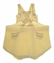 "<img src=""https://p11.secure.hostingprod.com/@grammies-attic.com/ssl/images/blue-sold-1.gif""> Vintage 1930s Yellow Sunsuit with Embroidered Chick"
