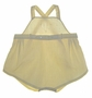 "<img src=""https://p11.secure.hostingprod.com/@grammies-attic.com/ssl/images/blue-sold-1.gif""> Vintage 1930s Yellow Sunsuit with Embroidery and Fagoting"