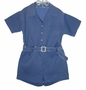 "<img src=""https://p11.secure.hostingprod.com/@grammies-attic.com/ssl/images/blue-sold-1.gif""> Vintage 1940s Boys French Blue Button On Shorts Set"
