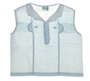 "<img src=""https://p11.secure.hostingprod.com/@grammies-attic.com/ssl/images/blue-sold-1.gif""> Vintage 1940s Pale Blue Pintucked Diaper Shirt with White Collar and Piping"