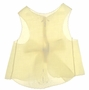 "<img src=""https://p11.secure.hostingprod.com/@grammies-attic.com/ssl/images/blue-sold-1.gif""> Vintage 1940s Pale Yellow Embroidered Diaper Shirt with Back Bow"