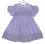 "<img src=""https://p11.secure.hostingprod.com/@grammies-attic.com/ssl/images/blue-sold-1.gif""> Vintage 1950s Lilac Smocked Toddler Dress with Embroidered Hearts"