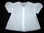 "<img src=""https://p11.secure.hostingprod.com/@grammies-attic.com/ssl/images/blue-sold-1.gif""> Vintage 1950s White Embroidered Diaper Shirt with Puffed Sleeves"