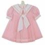 "<img src=""https://p11.secure.hostingprod.com/@grammies-attic.com/ssl/images/blue-sold-1.gif""> Vintage Little Bitty Pink Sailor Dress for Toddlers"
