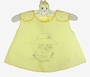 Vintage Yellow Diaper Shirt for You to Embroider