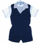 "<img src=""https://p11.secure.hostingprod.com/@grammies-attic.com/ssl/images/blue-sold-1.gif""> Will'Beth Navy and White Toddler Shorts Set with Vest"