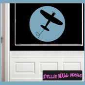 Airplanes Toy Labels Vinyl Wall Decal Sticker Mural Quotes Words LB006airplanes SWD