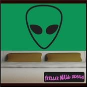 Alien Aliens Ufo Vinyl Wall Decal - Wall Sticker - Car Sticker Alienst001 SWD