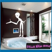 Alien Aliens Ufo Vinyl Wall Decal - Wall Sticker - Car Sticker Alienst003 SWD