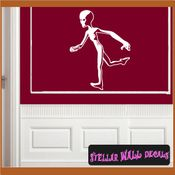 Alien Aliens Ufo Vinyl Wall Decal - Wall Sticker - Car Sticker Alienst006 SWD