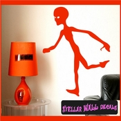 Alien Aliens Ufo Vinyl Wall Decal - Wall Sticker - Car Sticker Alienst007 SWD
