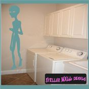 Alien Aliens Ufo Vinyl Wall Decal - Wall Sticker - Car Sticker Alienst009 SWD