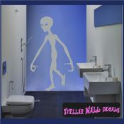 Alien Aliens Ufo Vinyl Wall Decal - Wall Sticker - Car Sticker Alienst013 SWD