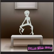 Alien Aliens Ufo Vinyl Wall Decal - Wall Sticker - Car Sticker Alienst017 SWD
