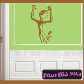 Alien Aliens Ufo Vinyl Wall Decal - Wall Sticker - Car Sticker Alienst024 SWD
