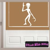 Alien Aliens Ufo Vinyl Wall Decal - Wall Sticker - Car Sticker Alienst035 SWD
