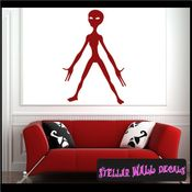 Alien Aliens Ufo Vinyl Wall Decal - Wall Sticker - Car Sticker Alienst039 SWD