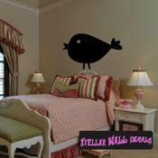 Chick Chicken Cluck Animal Wall Quote Mural Decal WA024 SWD