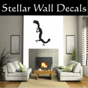 Chinese DRAGON DRAGONS Vinyl Wall Decal - Wall Mural - Car Sticker DragonChineseST002 SWD
