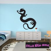 East DRAGON DRAGONS Vinyl Wall Decal - Wall Mural - Car Sticker DragonEastST0001 SWD