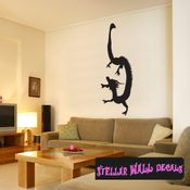 East DRAGON DRAGONS Vinyl Wall Decal - Wall Mural - Car Sticker DragonEastST0008 SWD