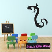 East DRAGON DRAGONS Vinyl Wall Decal - Wall Mural - Car Sticker DragonEastST0010 SWD