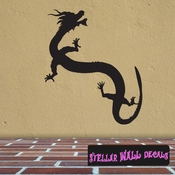 East DRAGON DRAGONS Vinyl Wall Decal - Wall Mural - Car Sticker DragonEastST0011 SWD