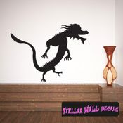 East DRAGON DRAGONS Vinyl Wall Decal - Wall Mural - Car Sticker DragonEastST0014 SWD