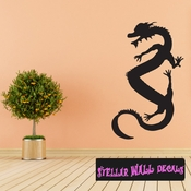 East DRAGON DRAGONS Vinyl Wall Decal - Wall Mural - Car Sticker DragonEastST0015 SWD