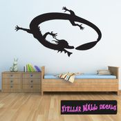 East DRAGON DRAGONS Vinyl Wall Decal - Wall Mural - Car Sticker DragonEastST0018 SWD