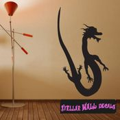 East DRAGON DRAGONS Vinyl Wall Decal - Wall Mural - Car Sticker DragonEastST0019 SWD