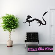 East DRAGON DRAGONS Vinyl Wall Decal - Wall Mural - Car Sticker DragonEastST0021 SWD
