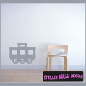 Extra Train Cart 05 Transportation Vinyl Wall Decal Sticker Mural Quotes Words CP094 SWD