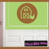 Farm Animals Toy Labels Vinyl Wall Decal Sticker Mural Quotes Words LB006farm SWD