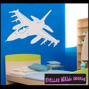Fighter Jet NS001 Wall Decal - Wall Sticker - Wall Mural SWD