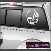 Gothic  Skulls Vinyl Wall Decal - Wall Mural - Vinyl Stickers SWD