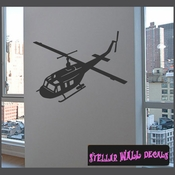 Helicopter NS001 Wall Decal - Wall Sticker - Wall Mural SWD