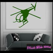 Helicopter NS003 Wall Decal - Wall Sticker - Wall Mural SWD