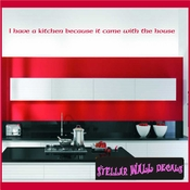If you like home cooking eat at home Wall Quote Mural Decal SWD