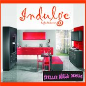 Indulge life is weet Wall Quote Mural Decal SWD