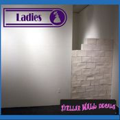 Ladies ANTIQUES Vinyl Wall Decal - Wall Sticker - Car Sticker AntiquesMC049 SWD