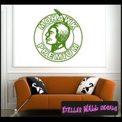Mohawk Premium ANTIQUES Vinyl Wall Decal - Wall Sticker - Car Sticker AntiquesMC038 SWD