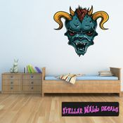 Monster Wall Decal - Wall Fabric - Repositionable Decal - Vinyl Car Sticker - usc002